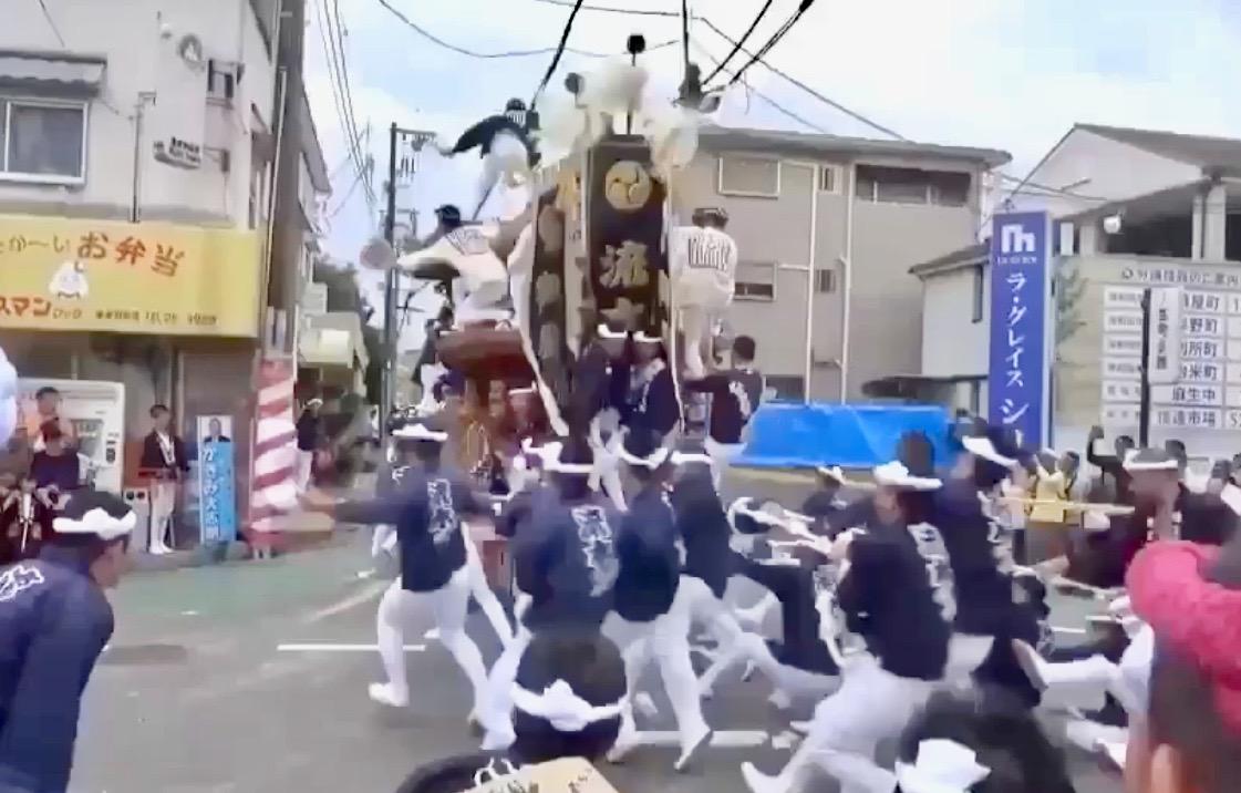 だんじり 中止 岸和田
